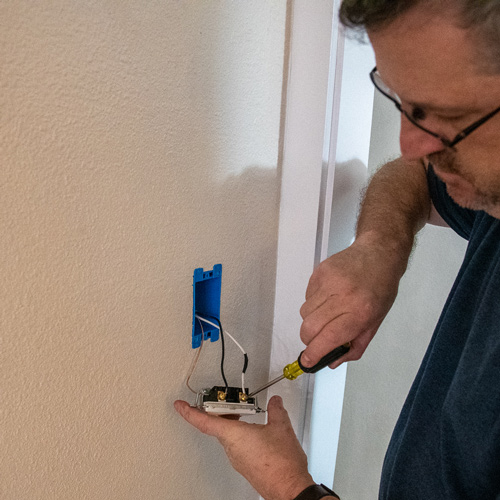How to Control any Electrical Outlet with a Switch — AZ DIY Guy Wiring To A Switch on