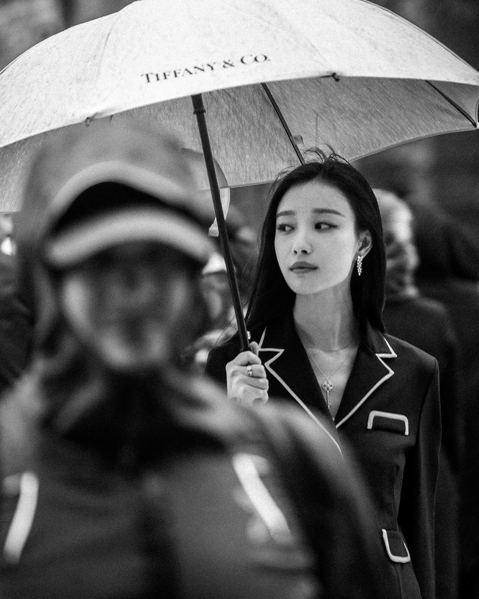 Ni Ni x Tiffany & Co. x Tencent Fashion