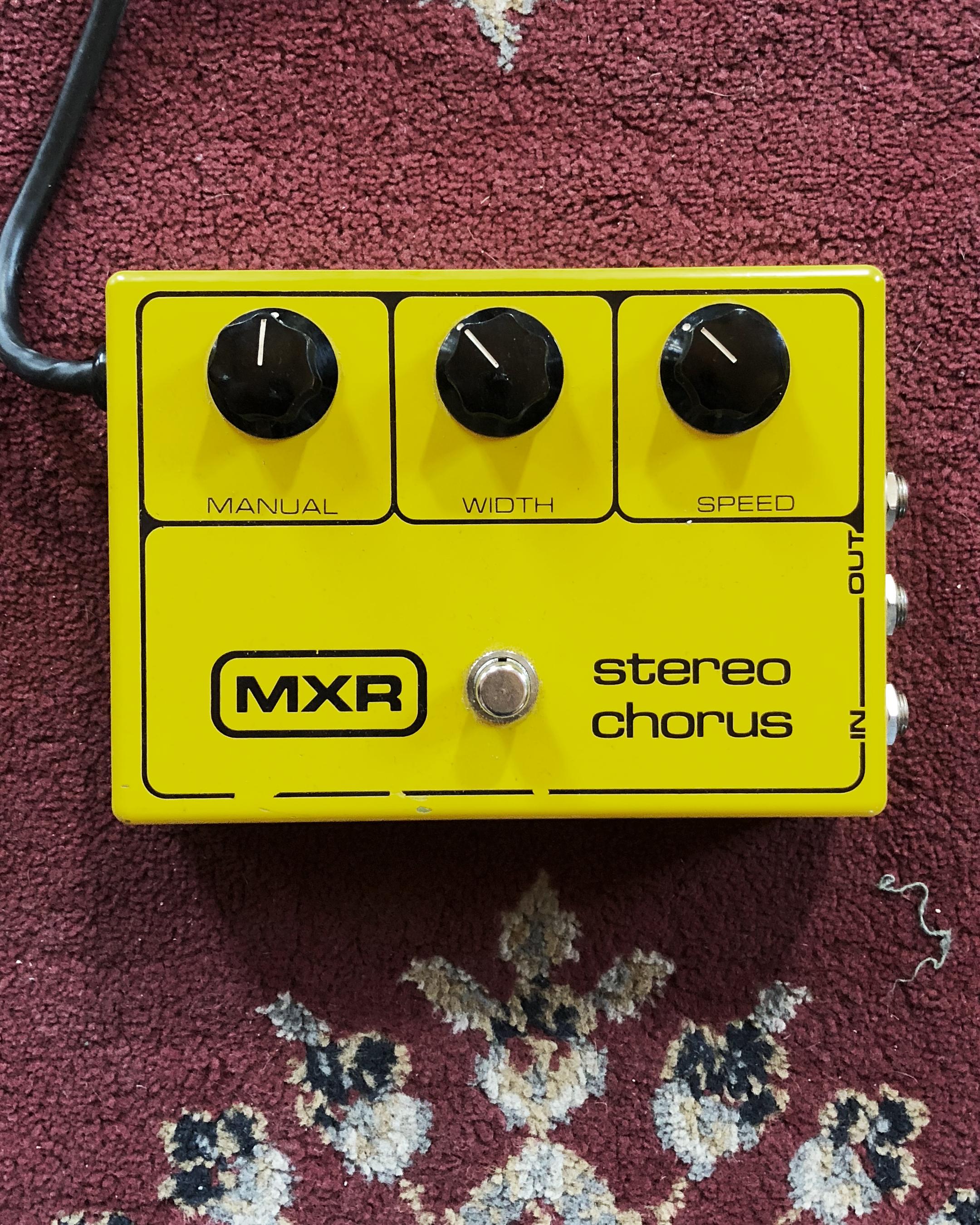 MXR Stereo Chorus