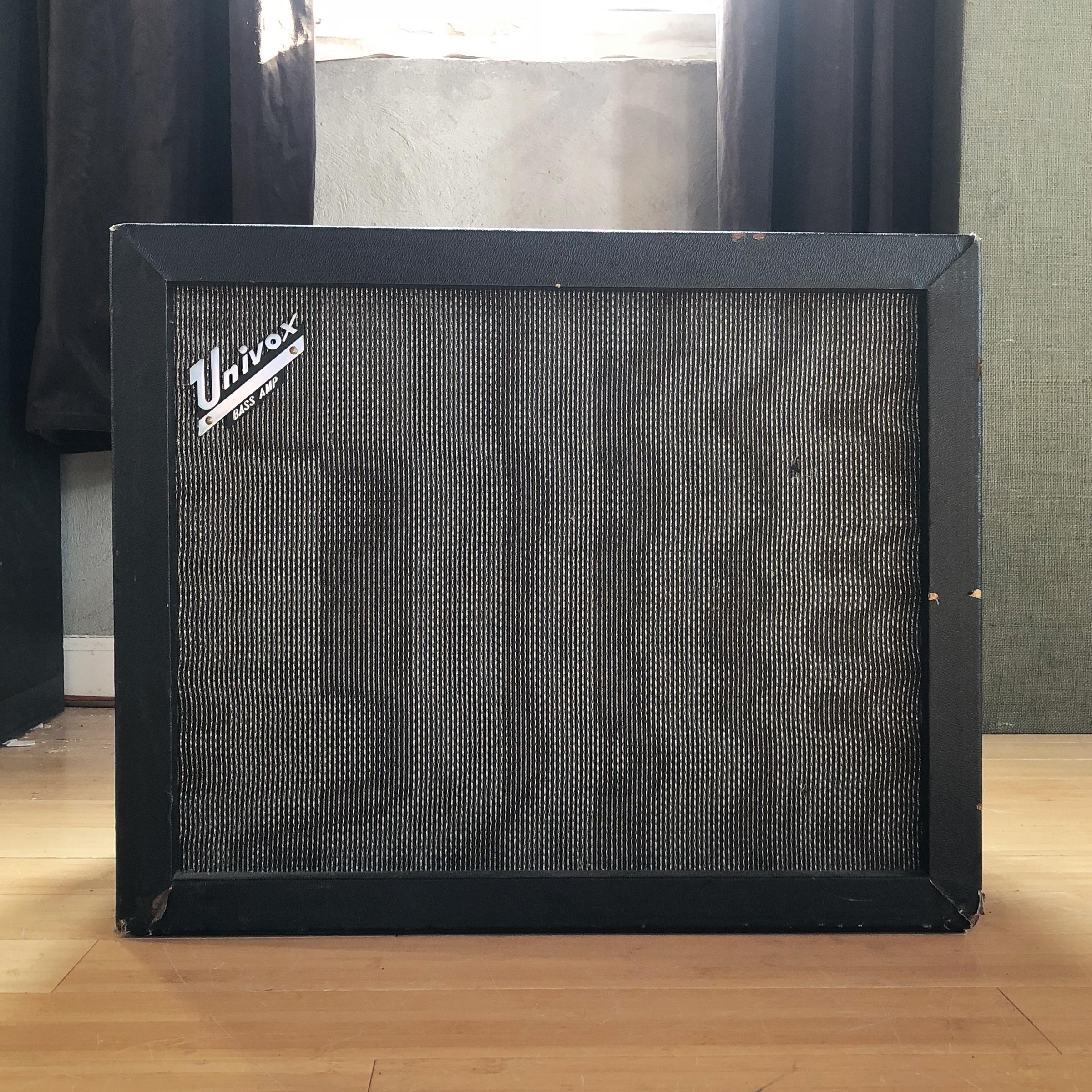 Univox Bass Amp (Matt Poirier's)