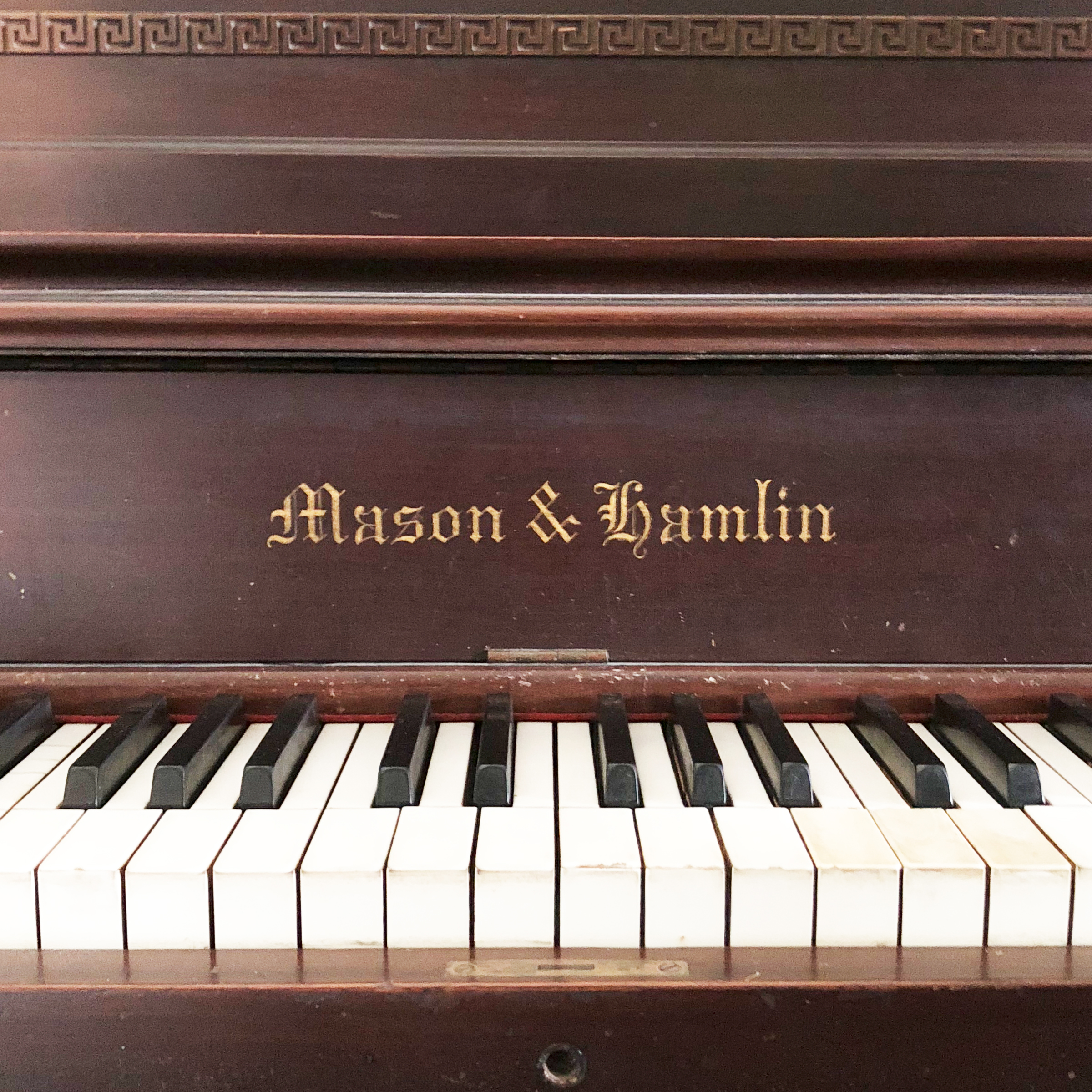 Mason and Hamlin Upright Grand Piano