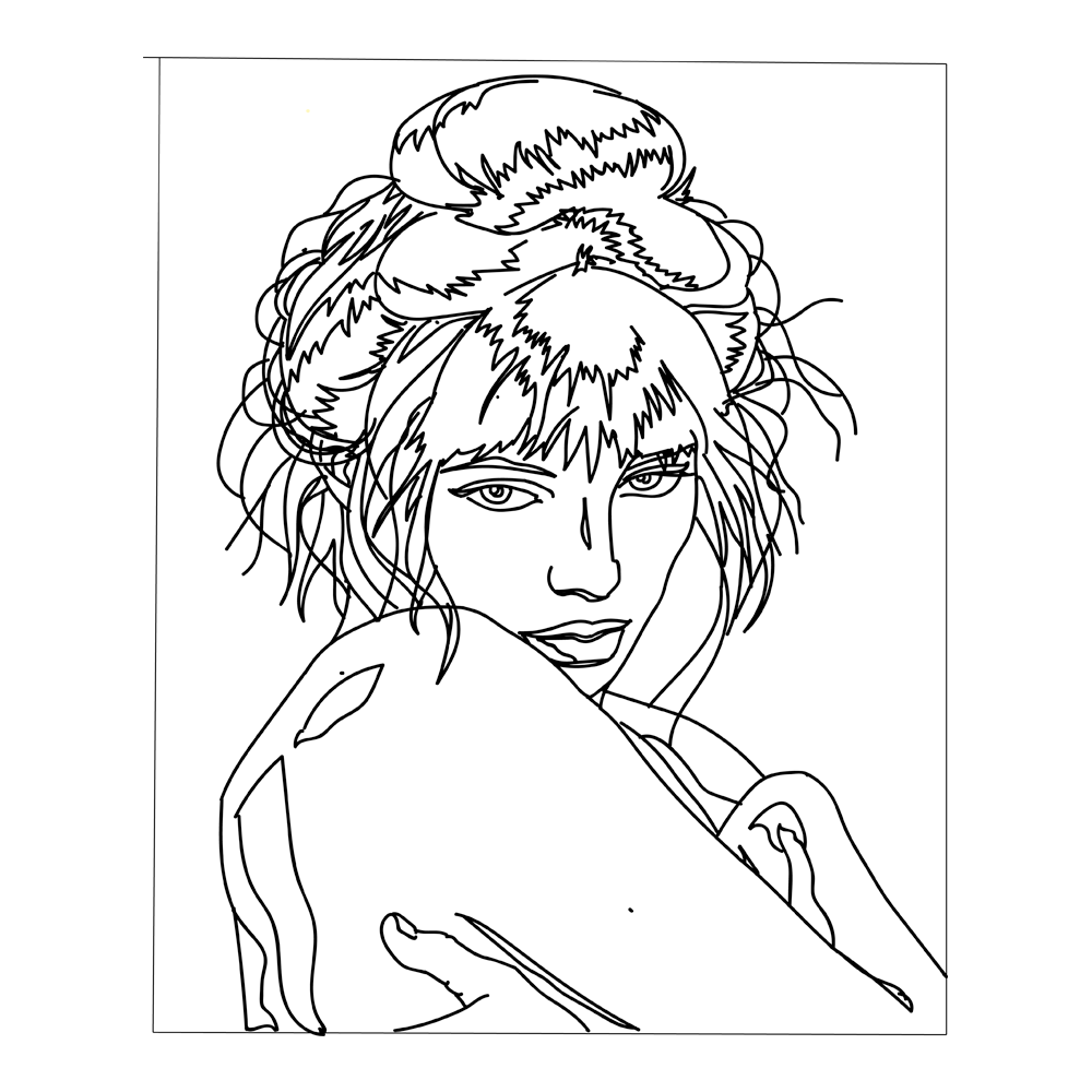 Jane Birkin: Adobe Illustrator Practice