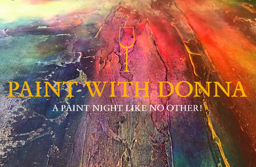 picture of Paint with Donna logo | Paint and Sip | Paint class | Wine