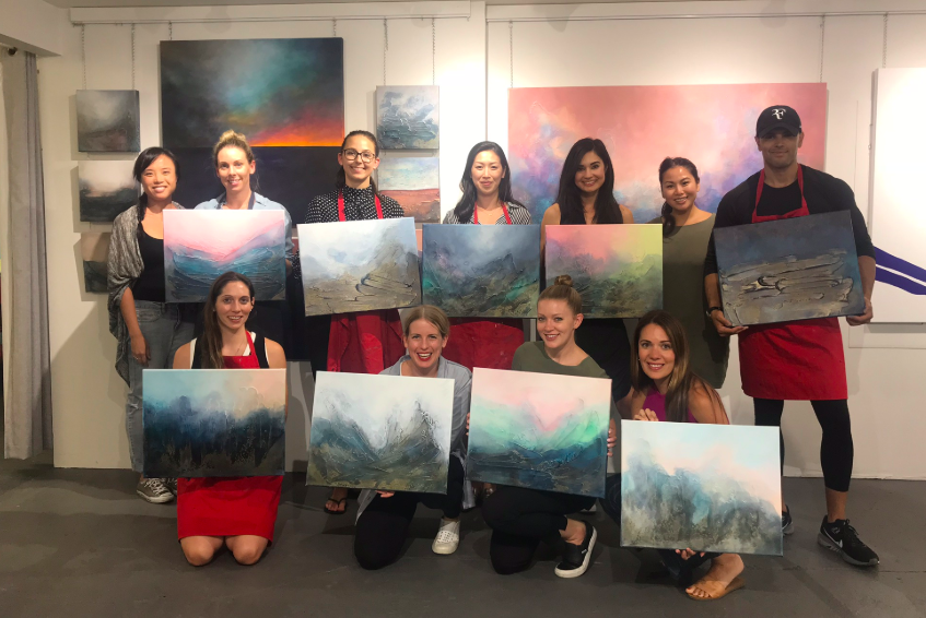 Paint with donna class participants vancouver bes paint night.png