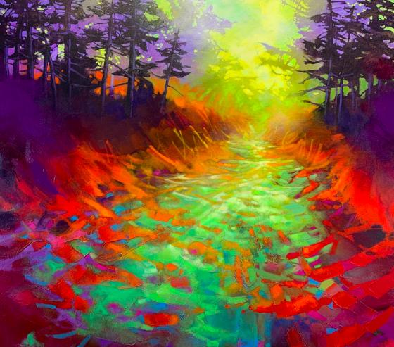 Donna Giraud 3 favorite Artists blog post Blu Smith artwork