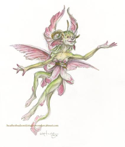 Pictured - a faerie