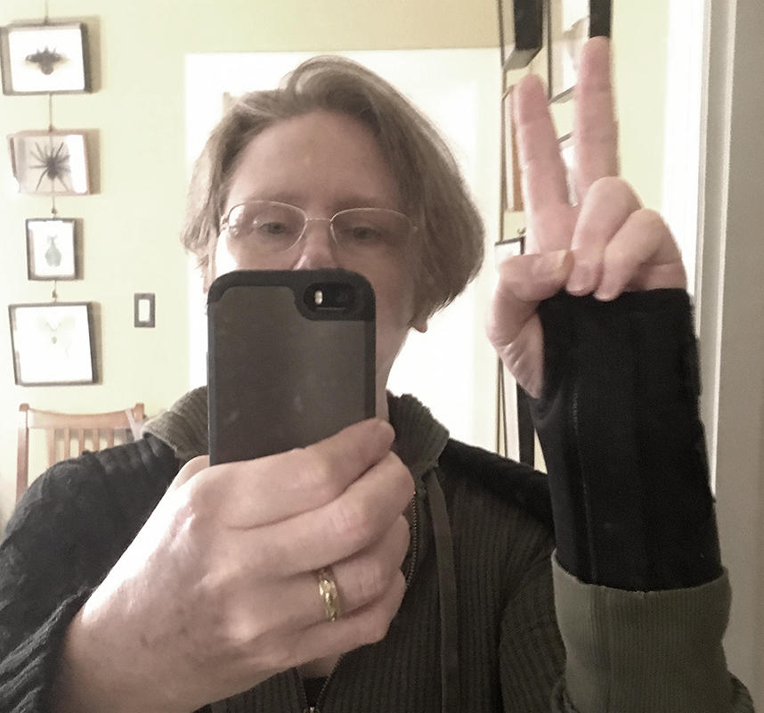 I think this might be the selfy-est selfy I ever selfied...