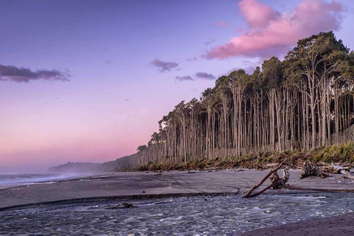 Bruce Bay Sunset, Westland