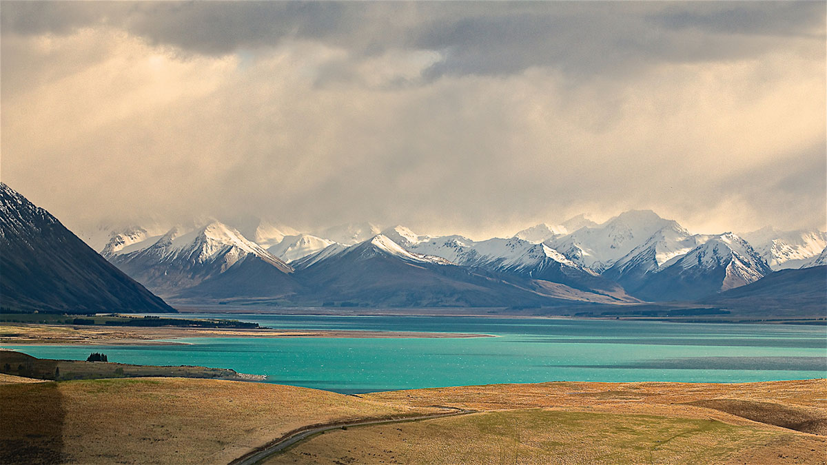 Storm Clouds, Lake Tekapo