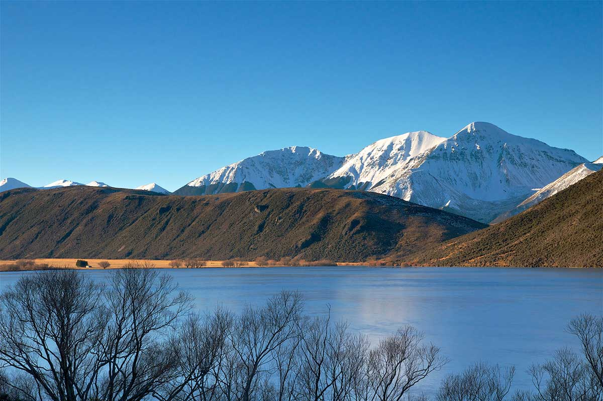Lake Pearson, Canterbury High Country