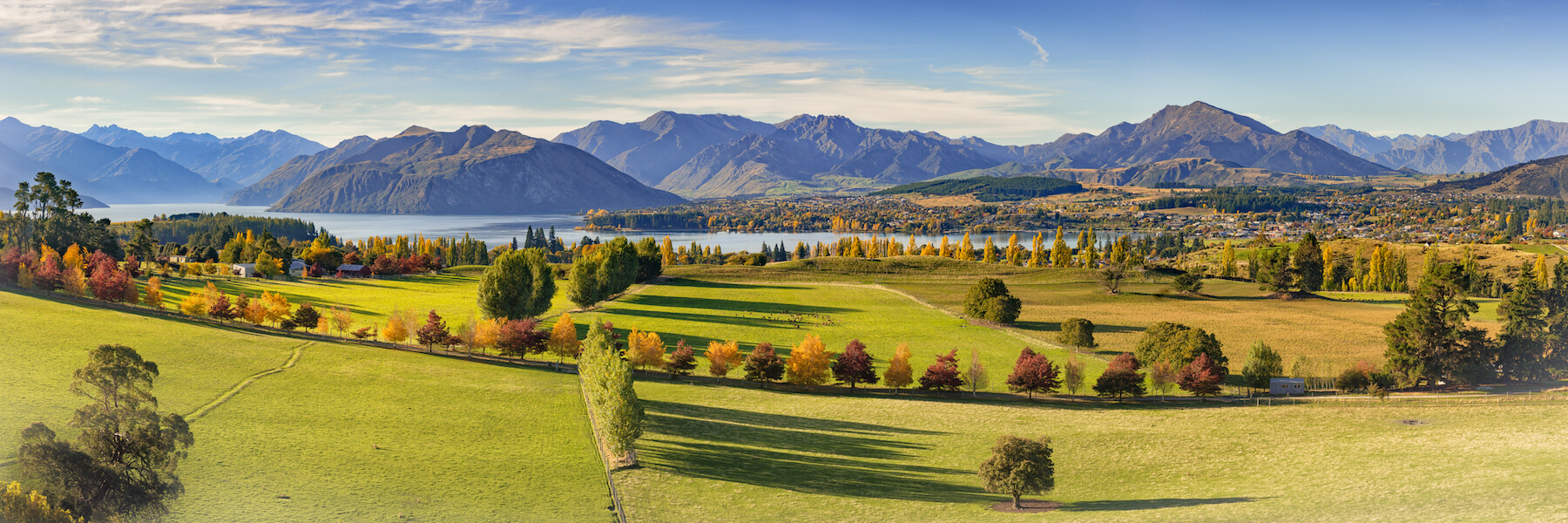 An Autumn View over Wanaka