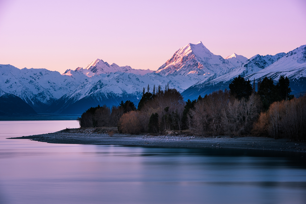 Aoraki Winter Sunset