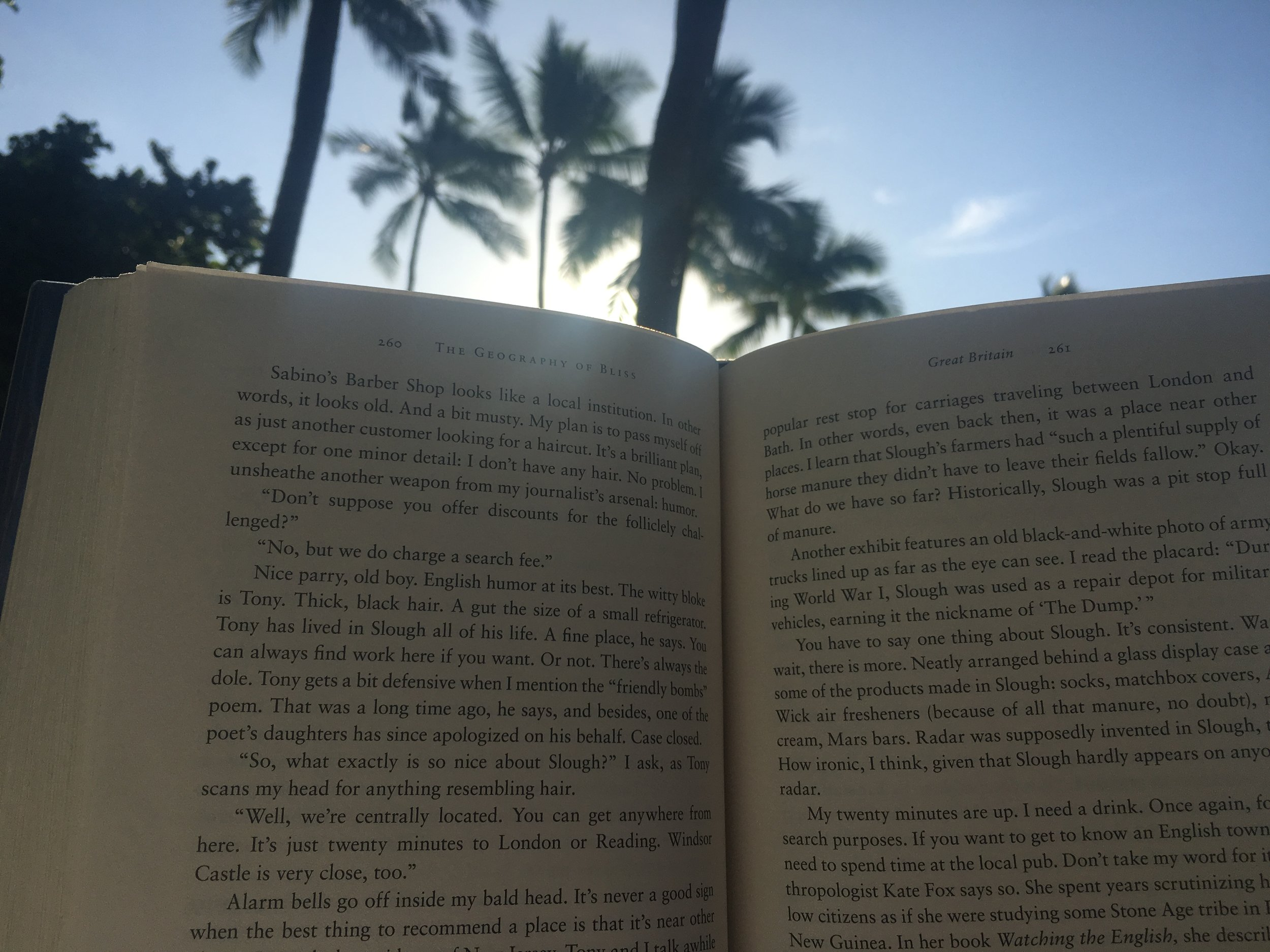 Copy of Reading by the pool