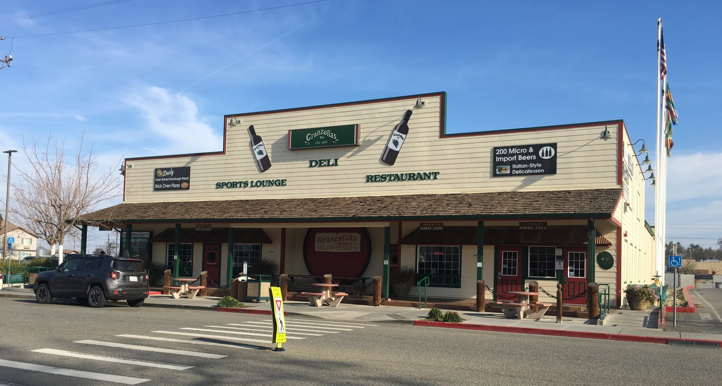Review of Granzella's Restaurant in Williams, California