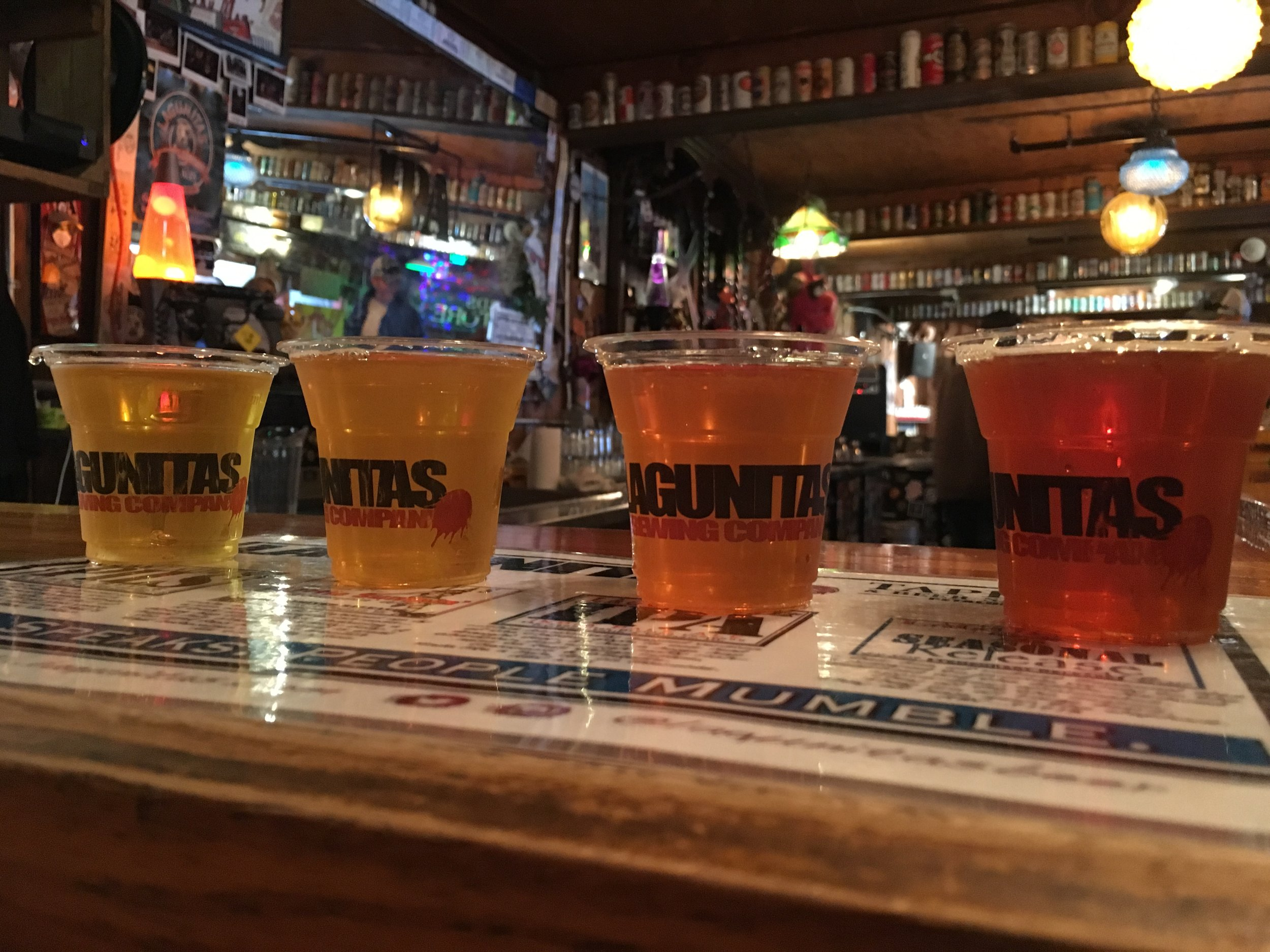 Review of Lagunitas Brewing Company tour in Petaluma, California