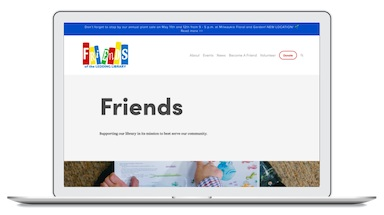 Friends of the Ledding Library Website