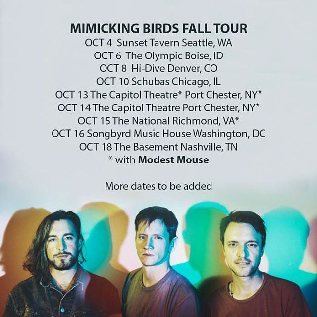 @mimickingbirdsmusic is on the road this Fall.