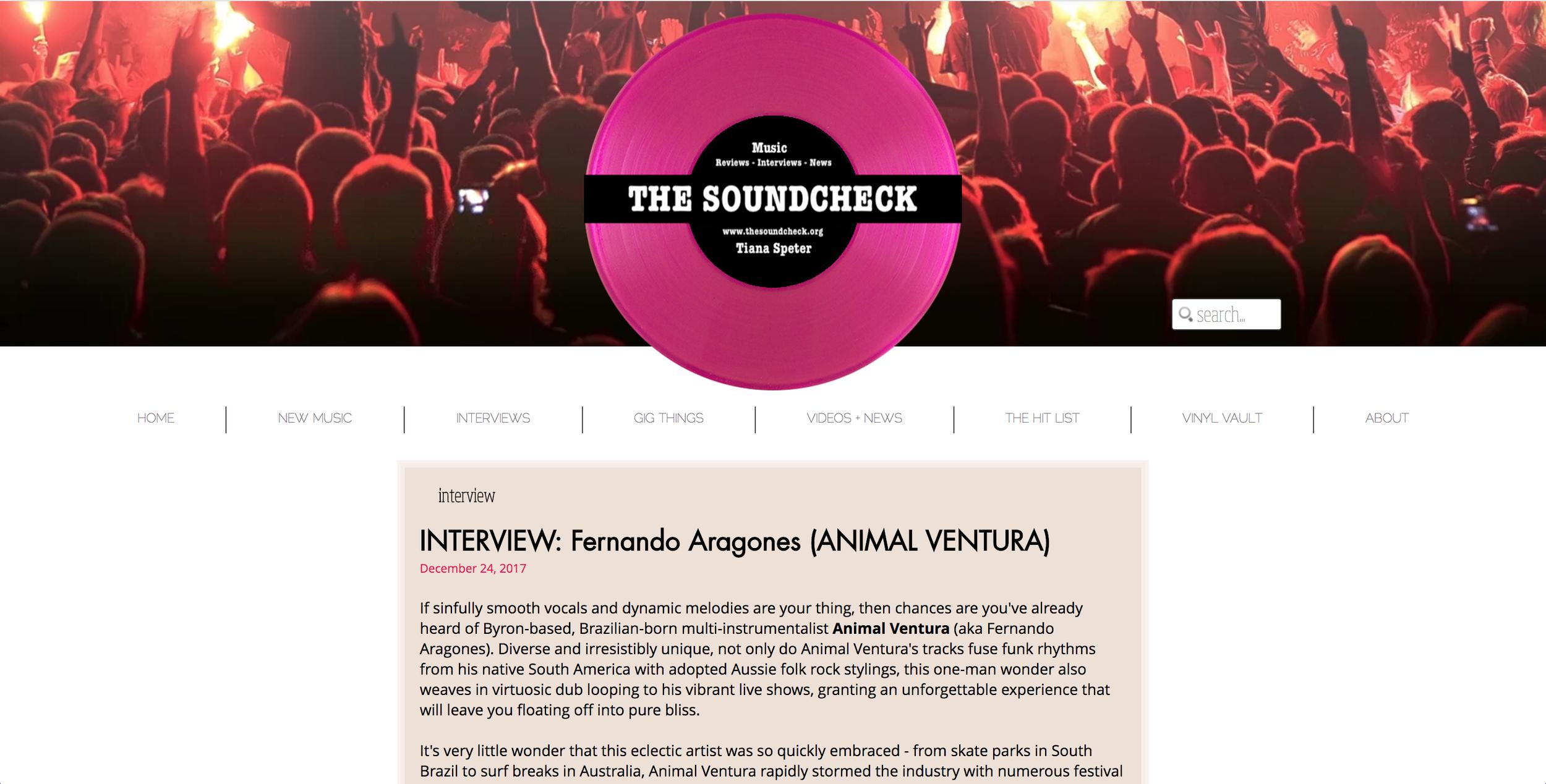 https://www.thesoundcheck.org/single-post/INTERVIEW-ANIMAL-VENTURA