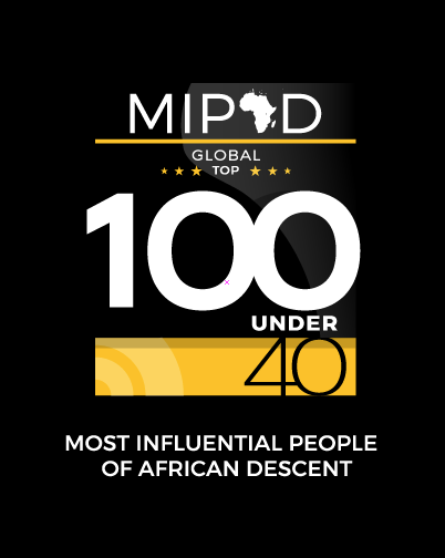 Nominated for United Nations' 2018 Most Influential People of African Descent (MIPAD), Under 40, Global 100 List.