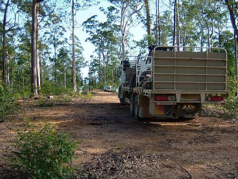 State forests and National Parks are a vauble resource for beekeeping, providing a shelter refuge, an opportunity for the bees to re-build, and sometimes a production site for honey.