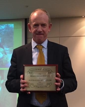 Doug Somerville Receives The Goodacre Award