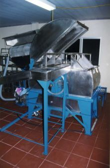 High-quality building and extracting equipment used by beekeepers in Uruguay