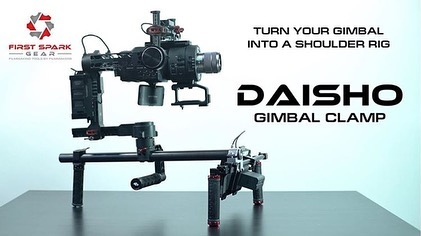 Want to shoot for hours with your gimbal? With the DAISHO gimbal clamp now you can!