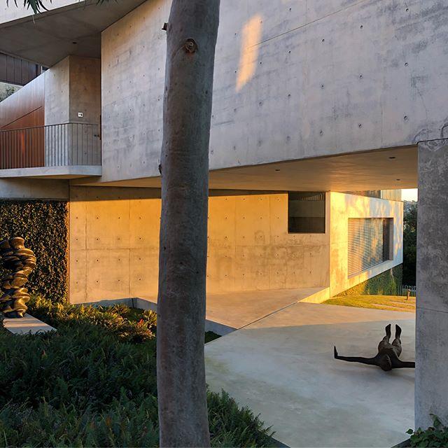 Beautiful sunny morning at the Balmoral house #sydneyarchitecture #australianarchitecture #balmoral #balmoralbeach #antonygormley #tonycragg