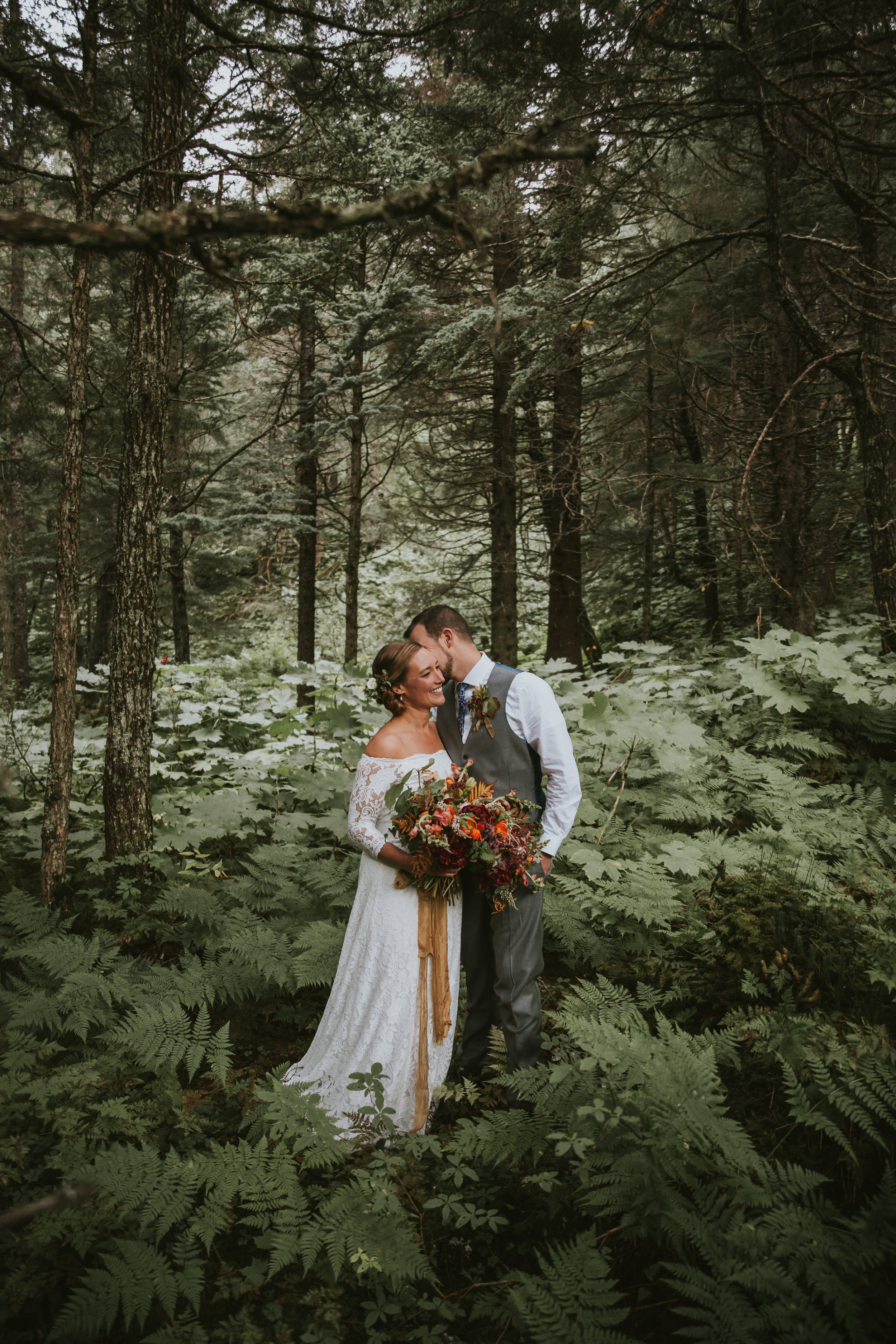 KELLI AND RYAN WEDDING - GIRDWOOD, ALASKA