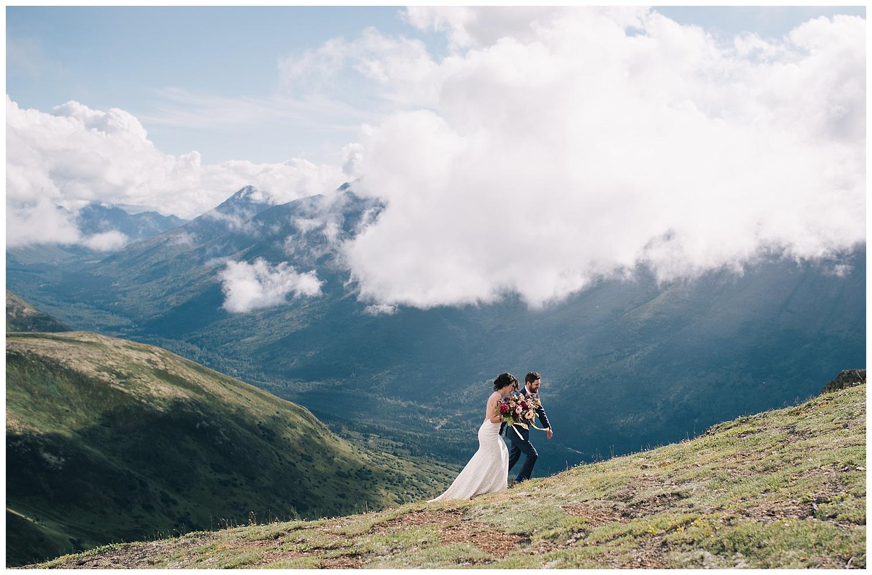 KRISTINA AND RYAN WEDDING - ARCTIC VALLEY