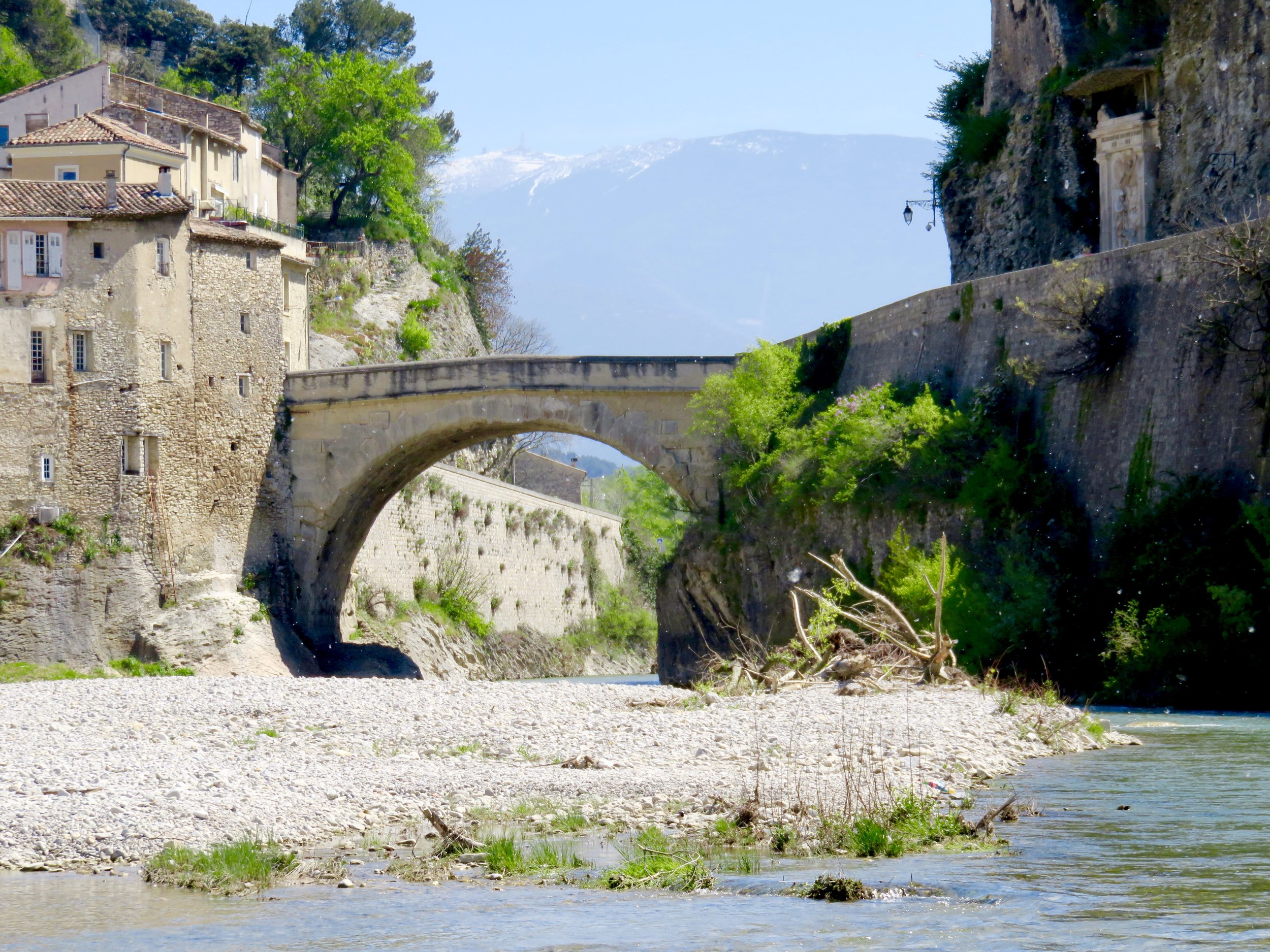 1st century Roman bridge (has survived flooding that swept away more recent bridges)