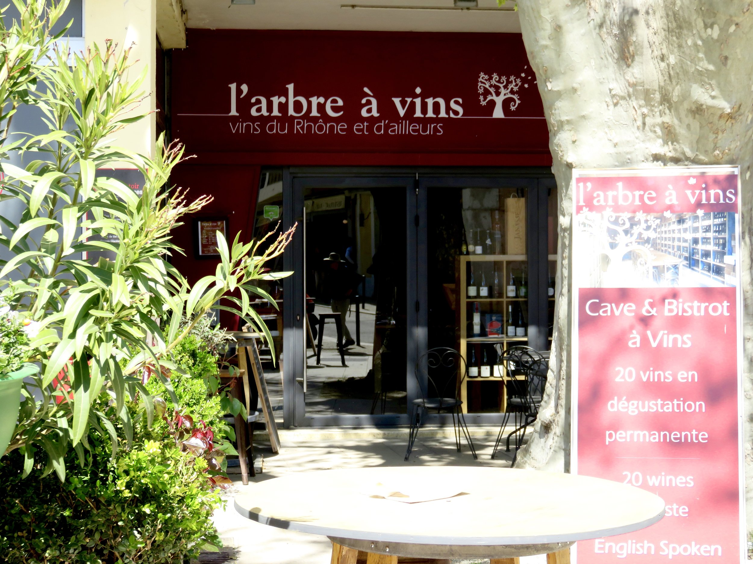 Our favourite wine bar!