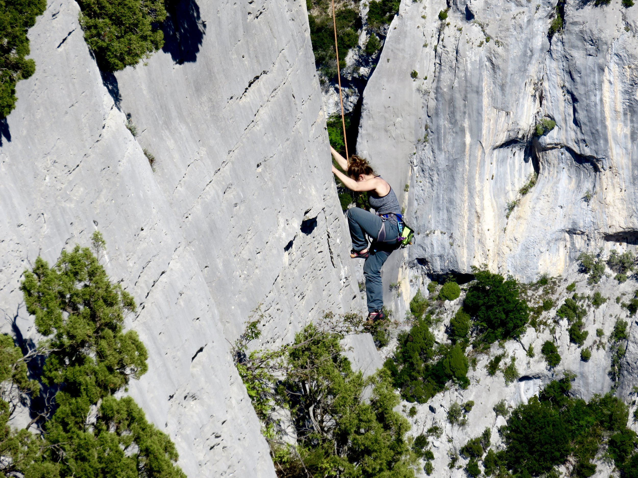 Mecca for climbers. . .