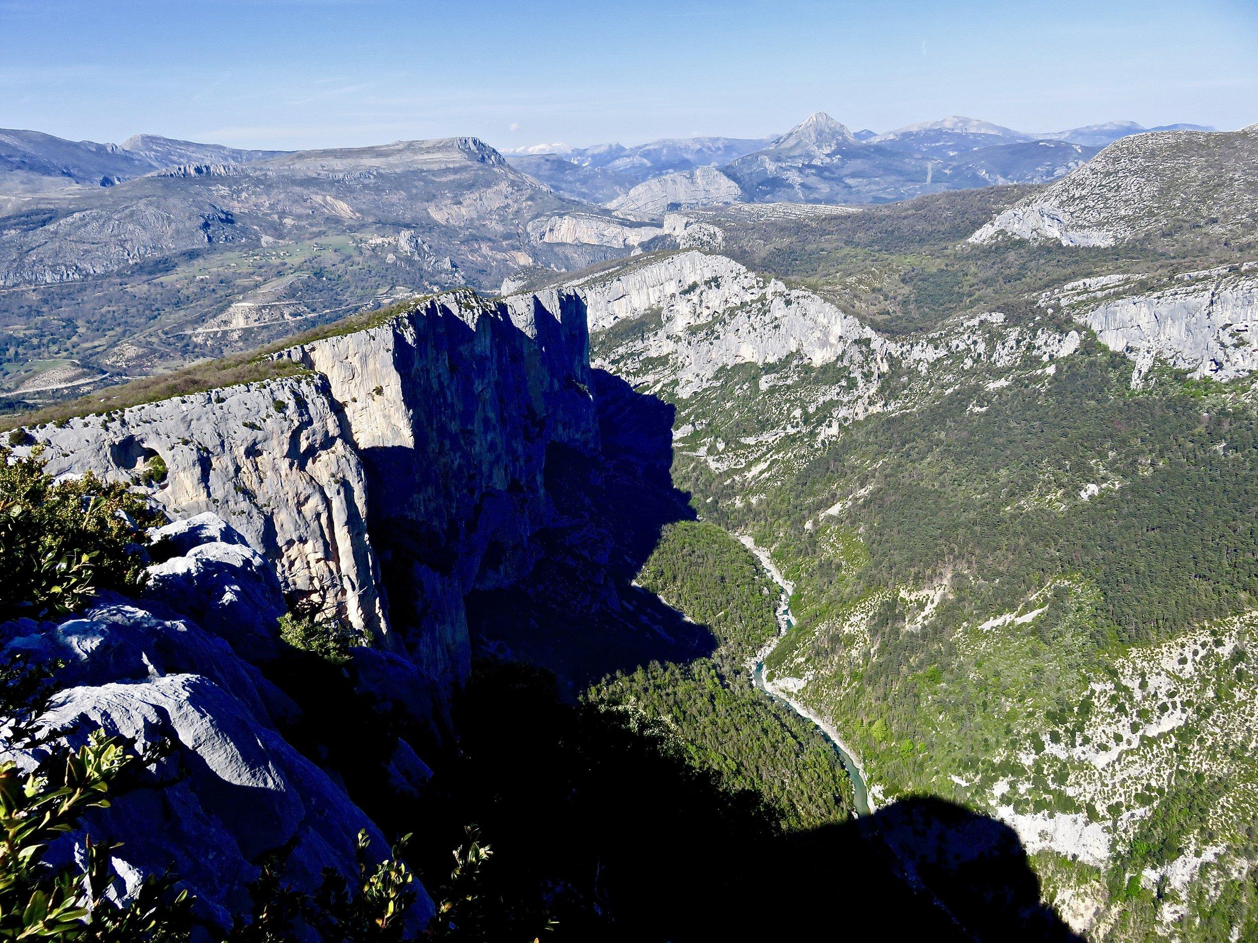 Never-ending Provençal landscape...