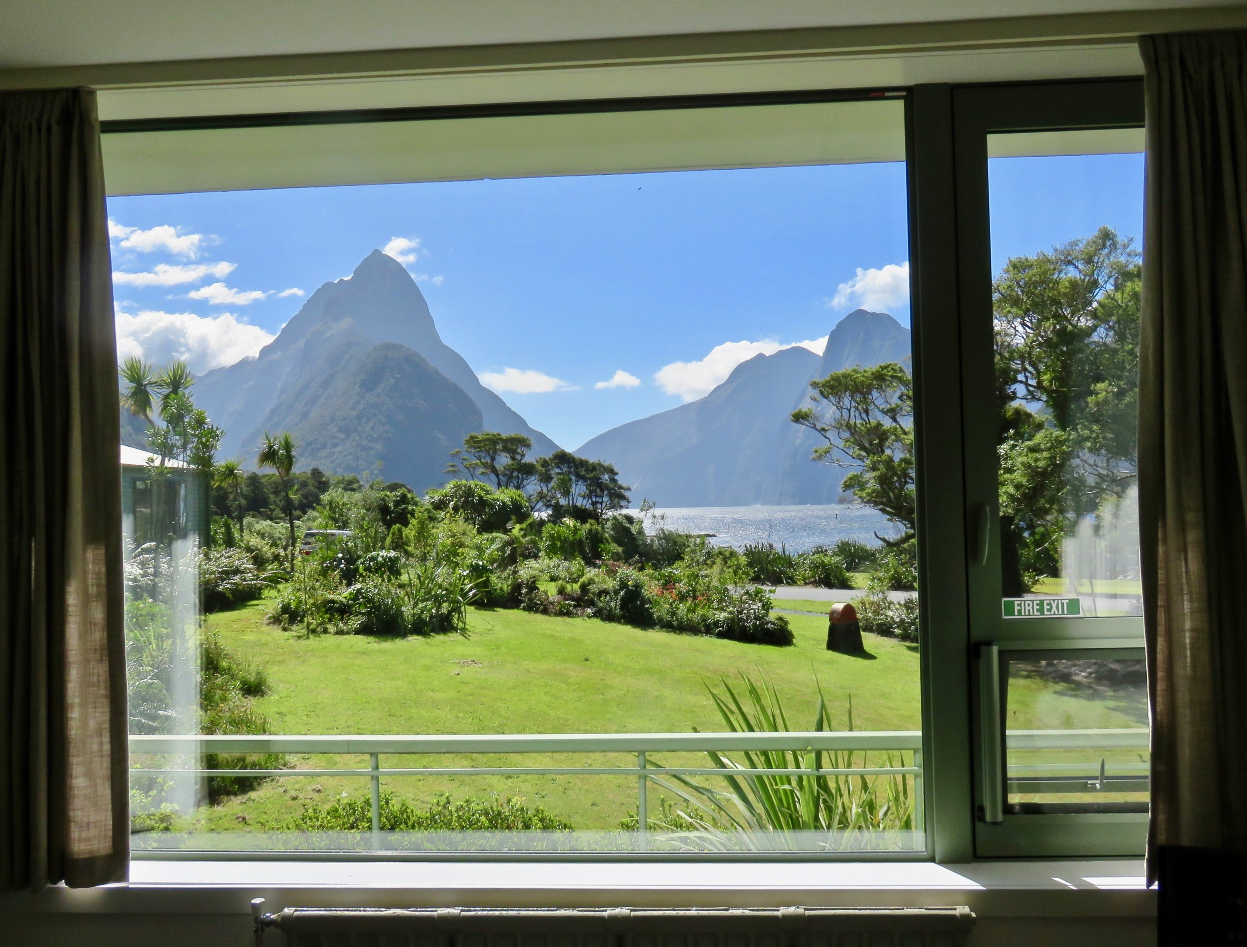Room with a view: Mitre Peak Lodge