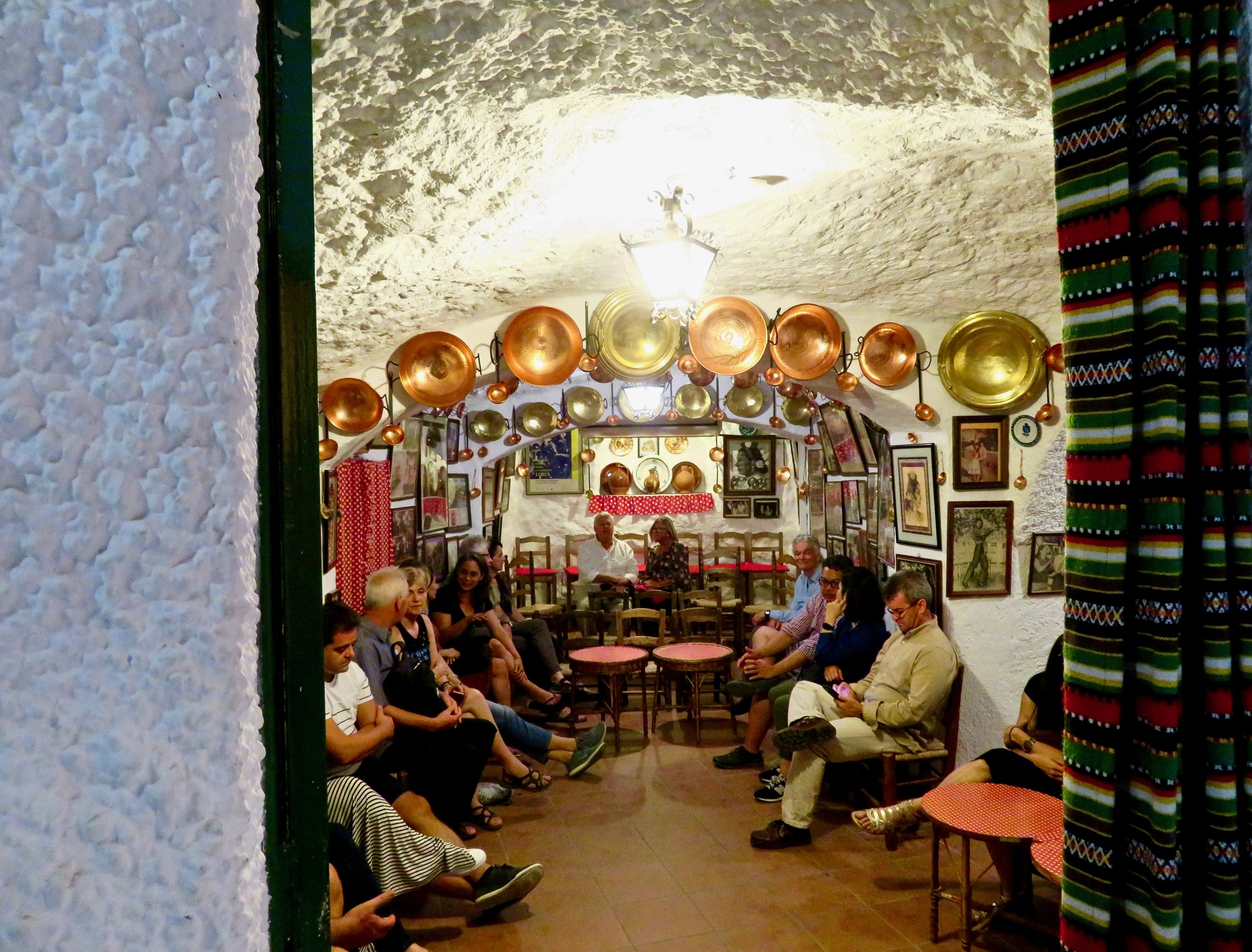 Flamenco cave, Granada