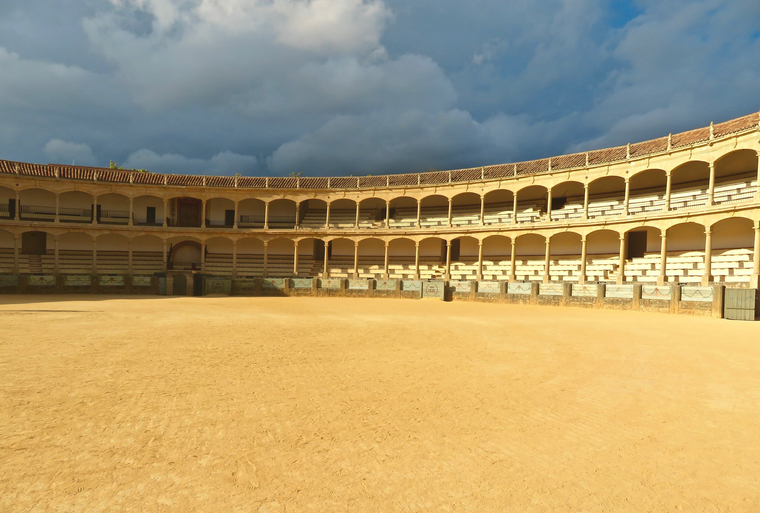 The emblematic bullring, Ronda