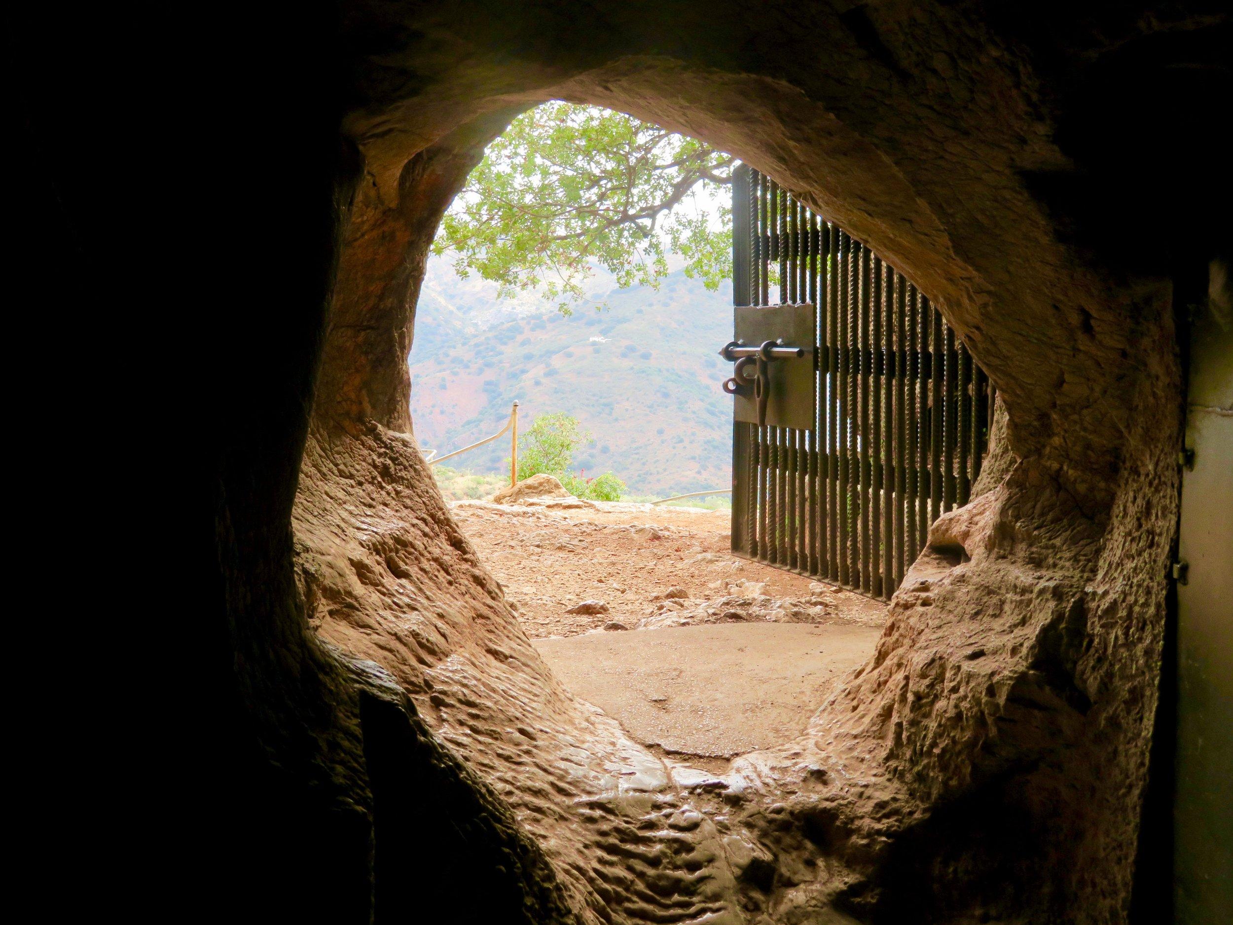 Mouth of the Cueva de la Pileta!