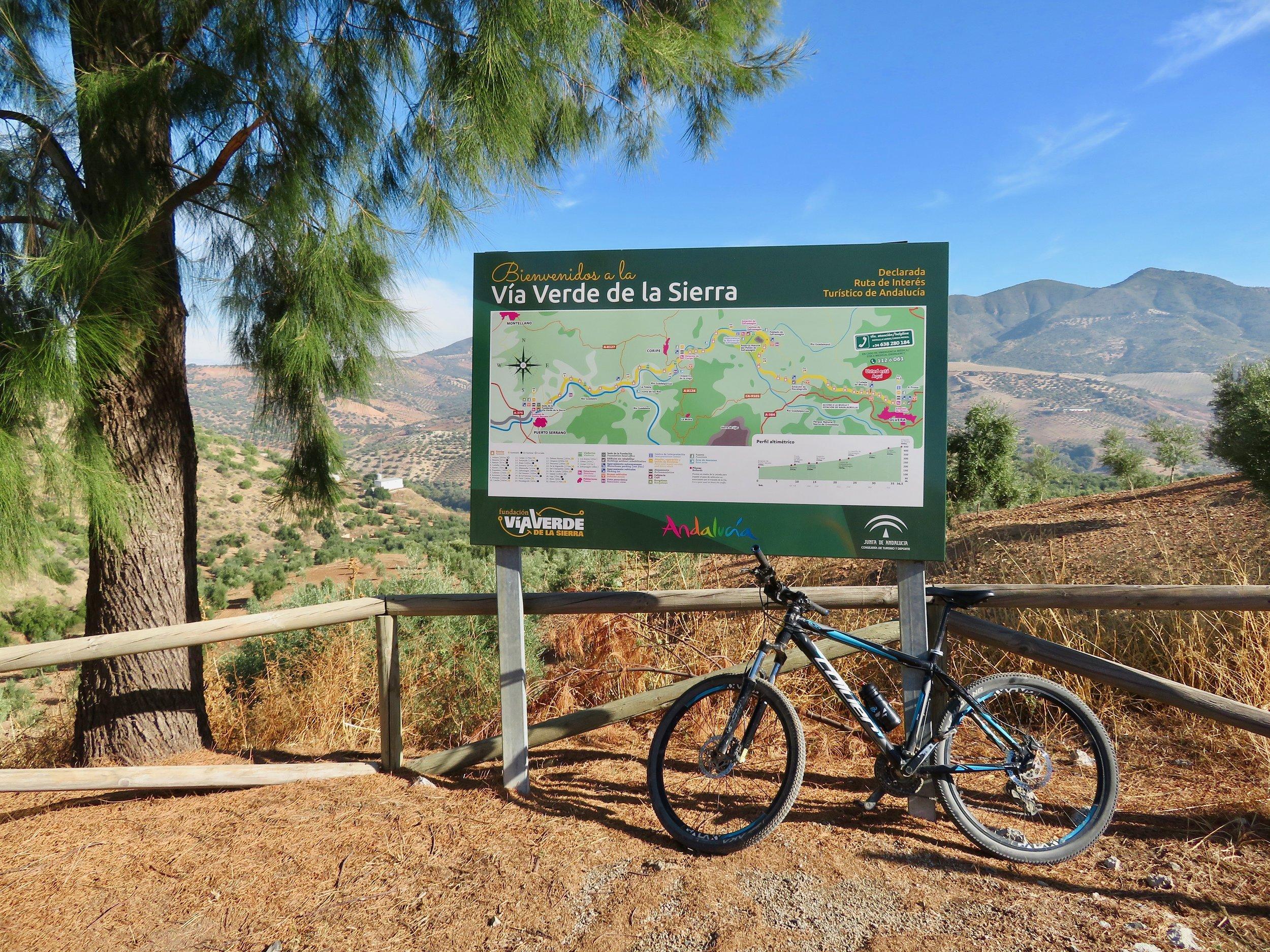 Rail Trail: Via Verde de la Sierra