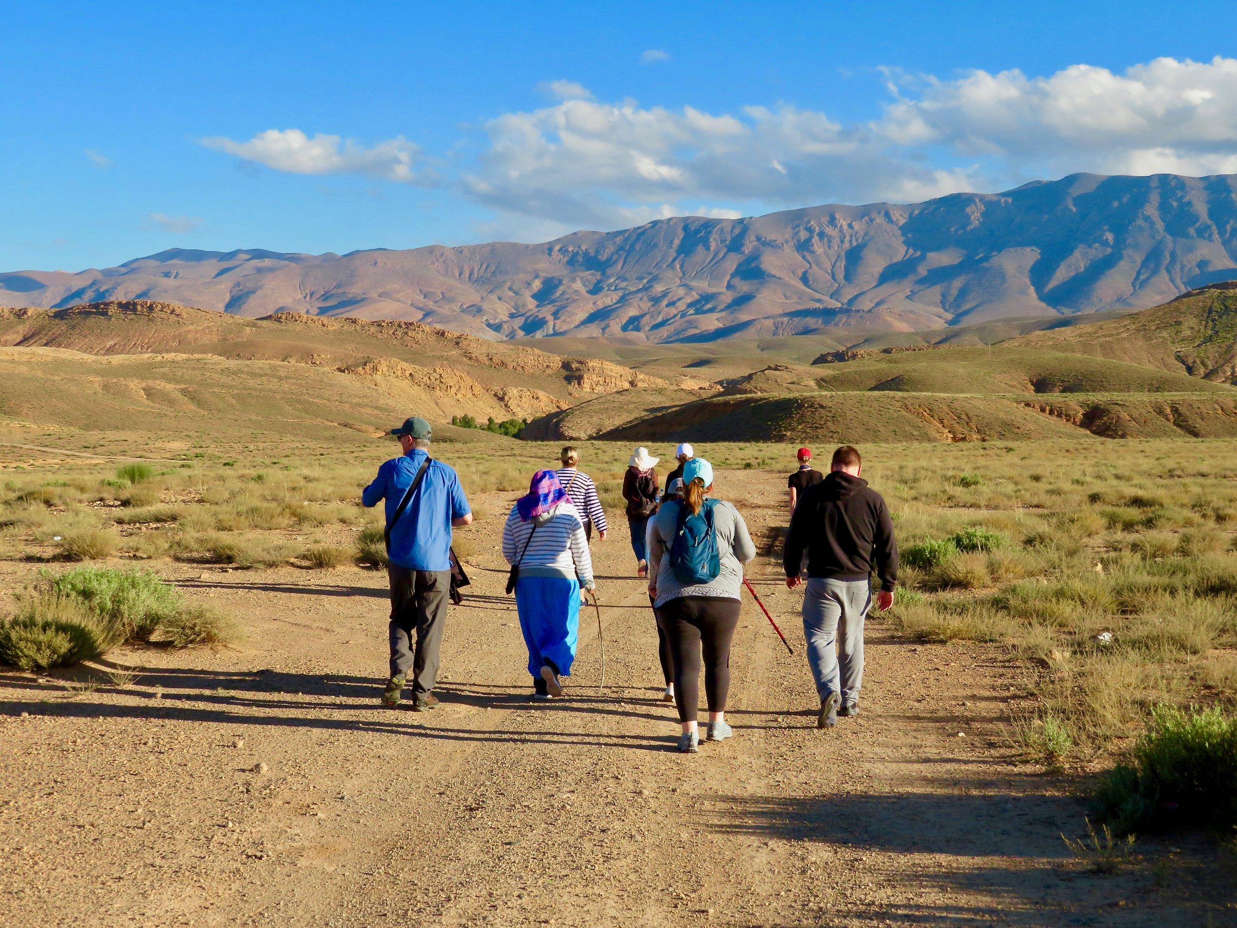 Heading out, Atlas Mountains