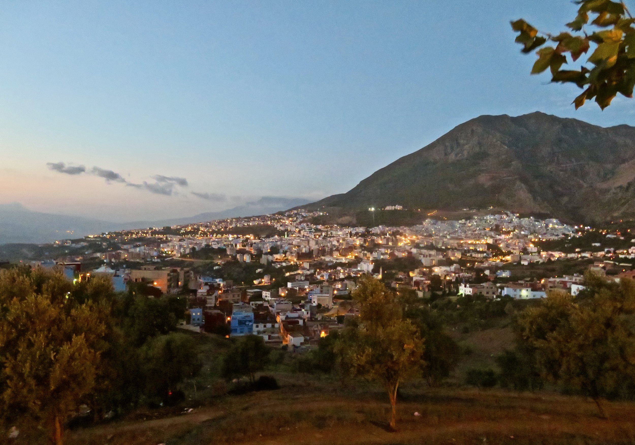 Chefchaouen at sunset, simply stunning!