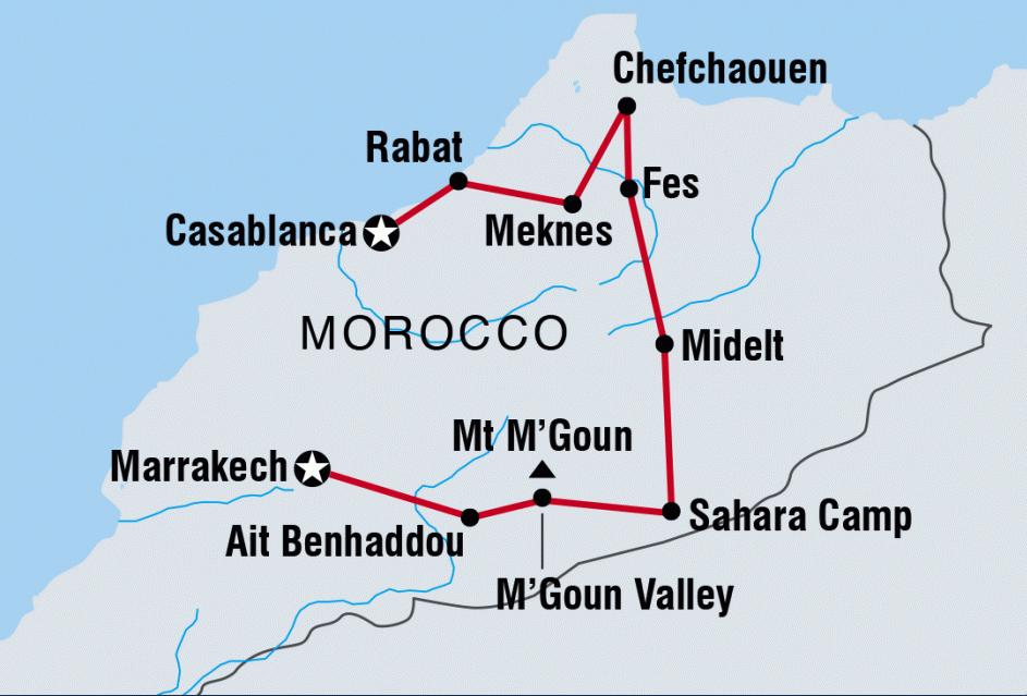 """Our """"Tour du Maroc"""""""