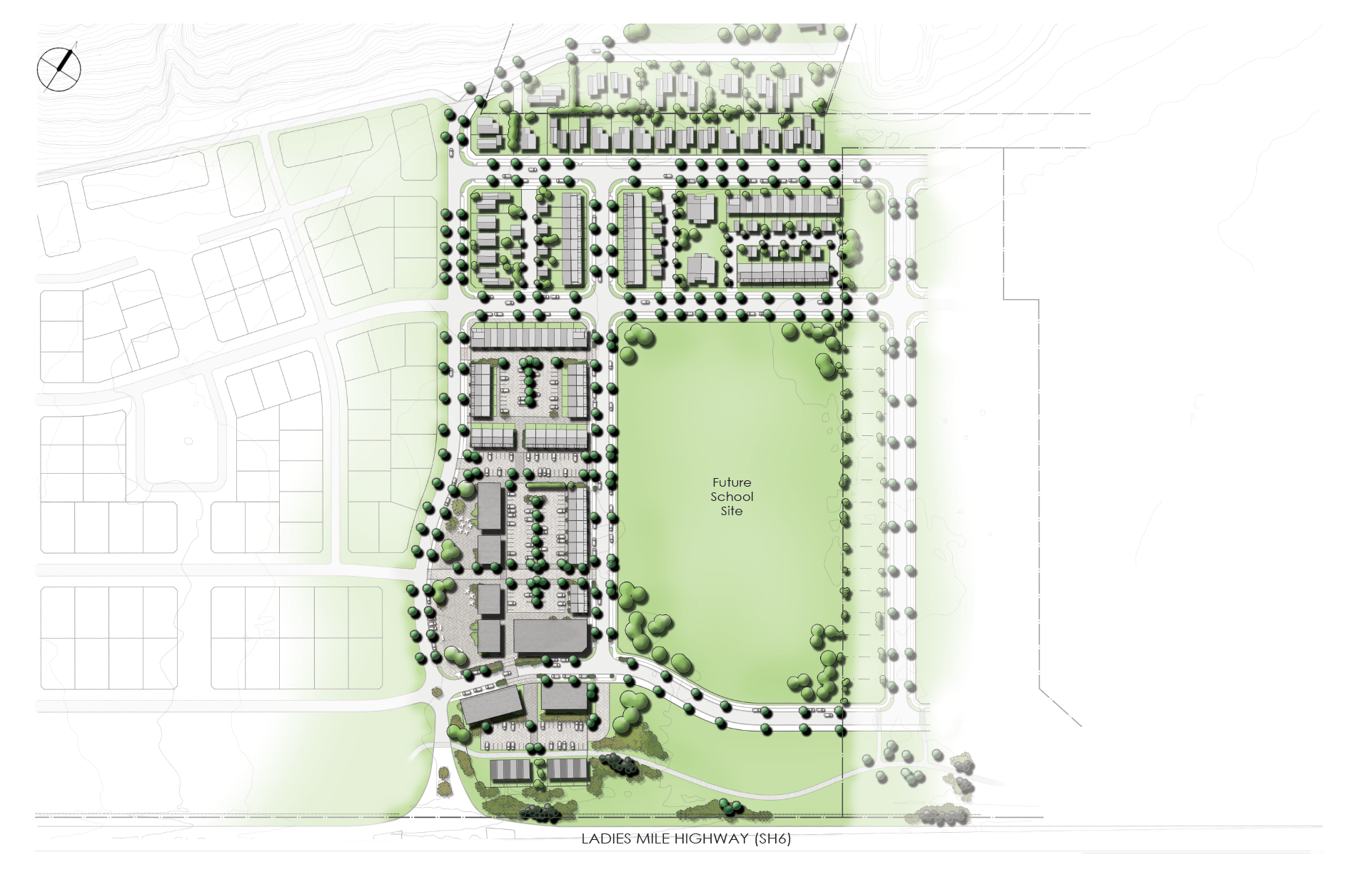 Flint's Park Mixed-use Precinct - Queenstown