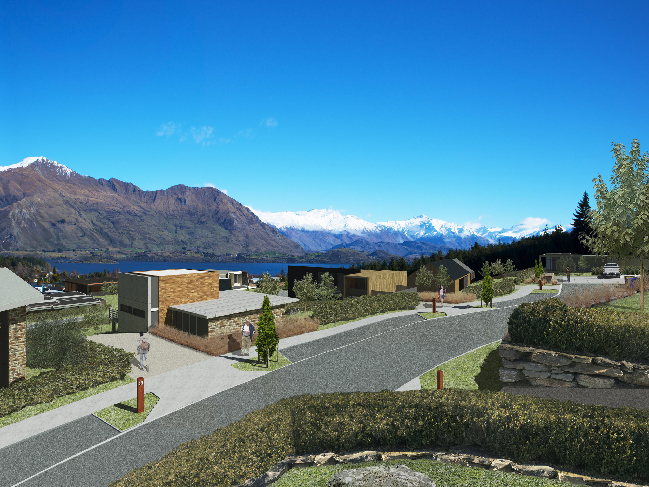 Visual Simulation - Kirimoko Summit Edition - Wanaka