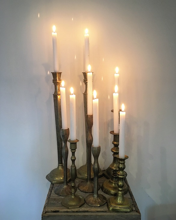 Brass Candlesticks  Starting at $5.00 each