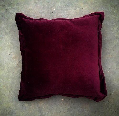 Velvet Plum Cushion