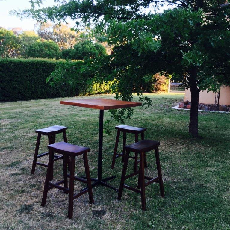 Square Timber Bar Table  Qty-5  $35 each