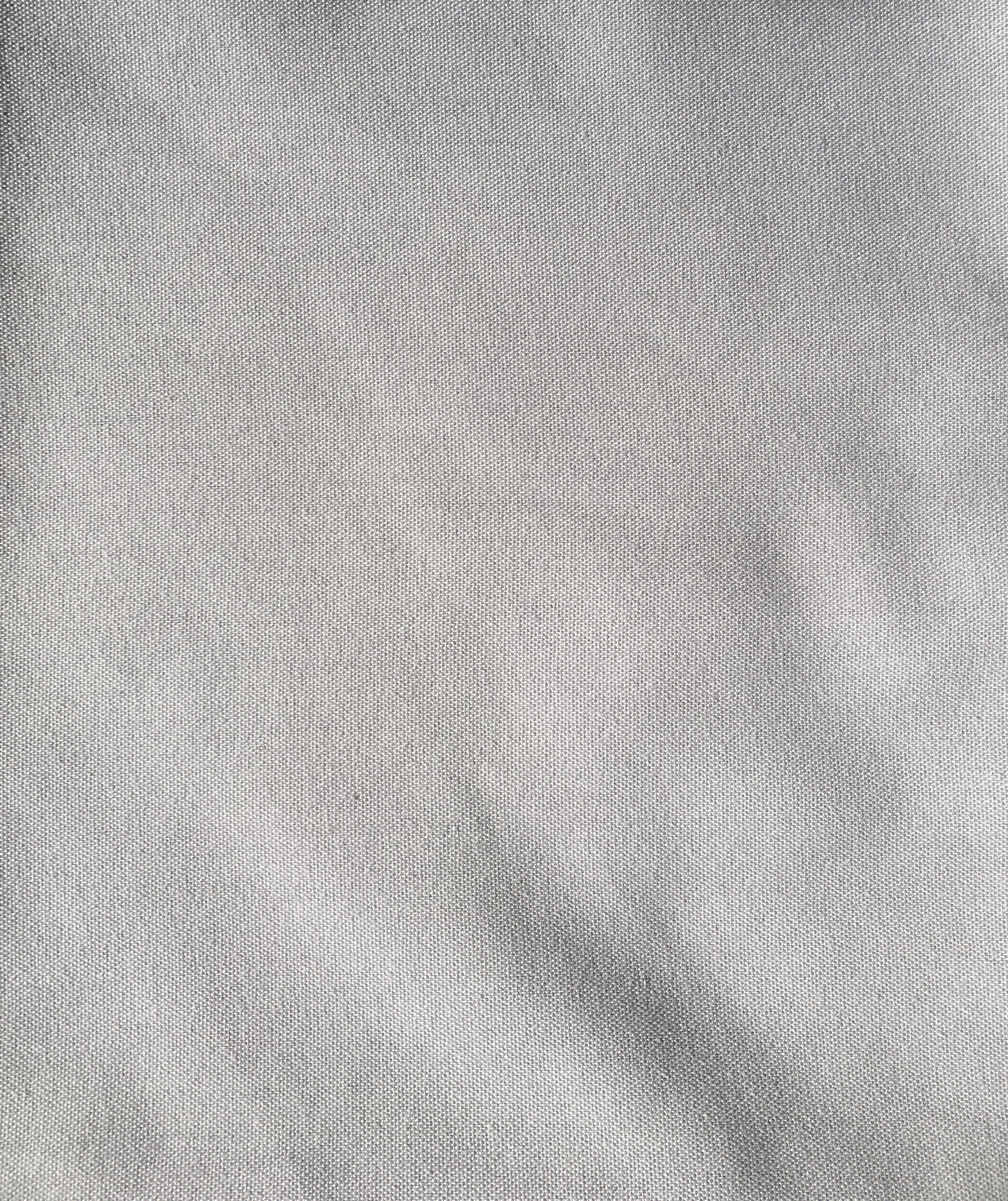 Soft Grey Napkin (Crisp)  50 cm x 50 cm  $1.80 each