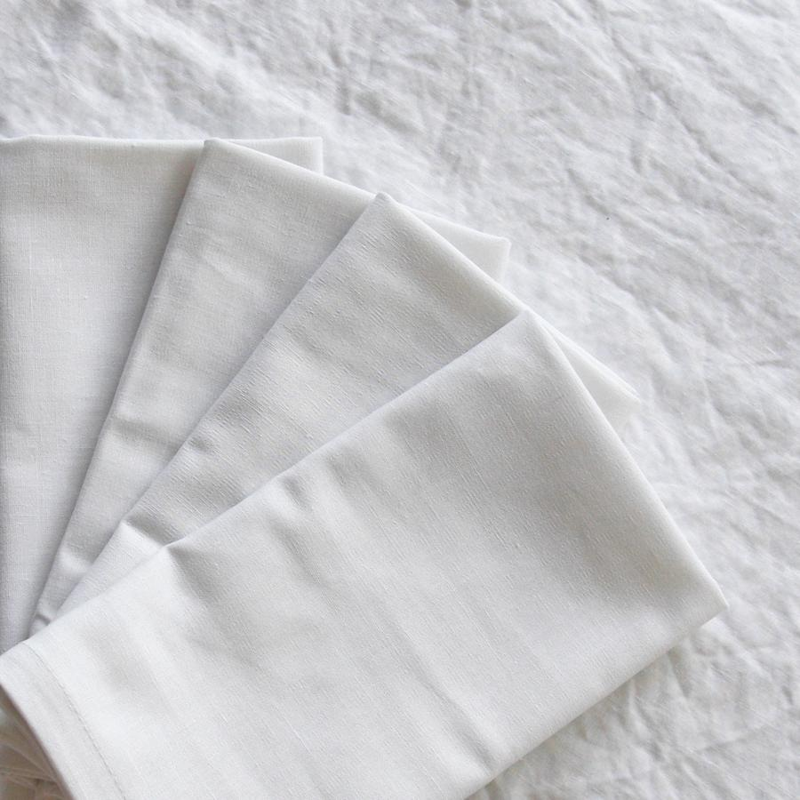 White Linen Napkin (Crisp)  50 cm x 50 cm  $1.50 each