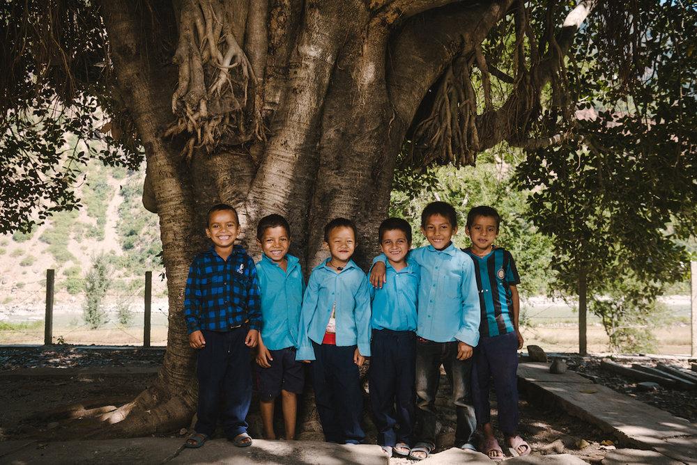 Voyage humanitaire au Népal